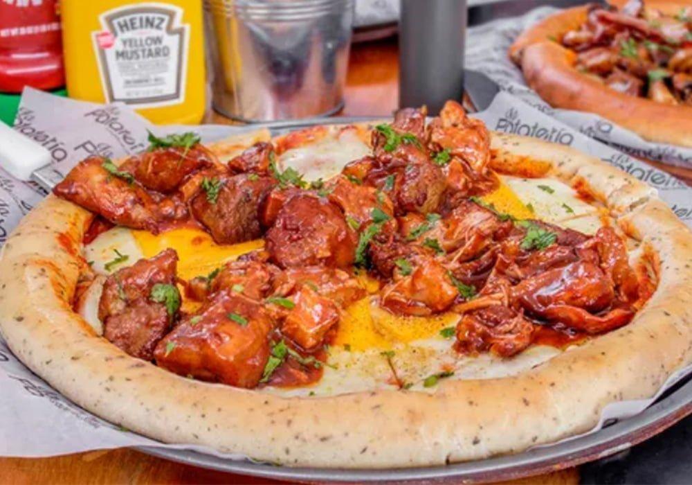 Pizza de Costilla